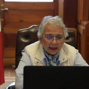 Olga Sánchez Cordero, secretaria de Gobernación, dice que la 4T ha puesto todo de su parte para combatir la pandemia
