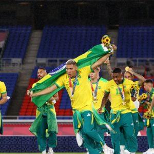 Brasil repite el oro de Rio 2016 y es bicampeón olímpico de futbol