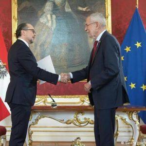 Alexander Schallenberg es investido como canciller de Austria