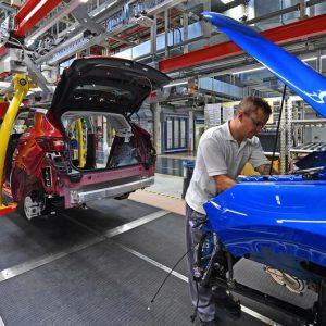Cae la producción industrial en Alemania