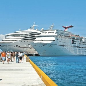 Cozumel tiene 15 cruceros programados para la primera semana de octubre