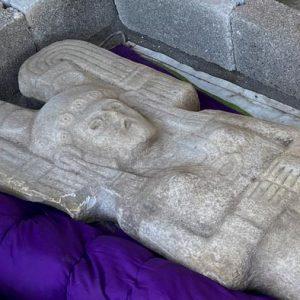 «La joven de Amajac» sustituirá finalmente a la estatua de Colón en la Ciudad de México