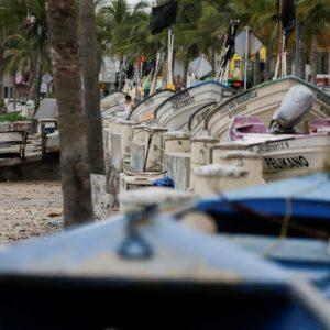 Pamela toca tierra como huracán categoría 1 en las costas de Sinaloa